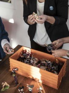 choix des figurines